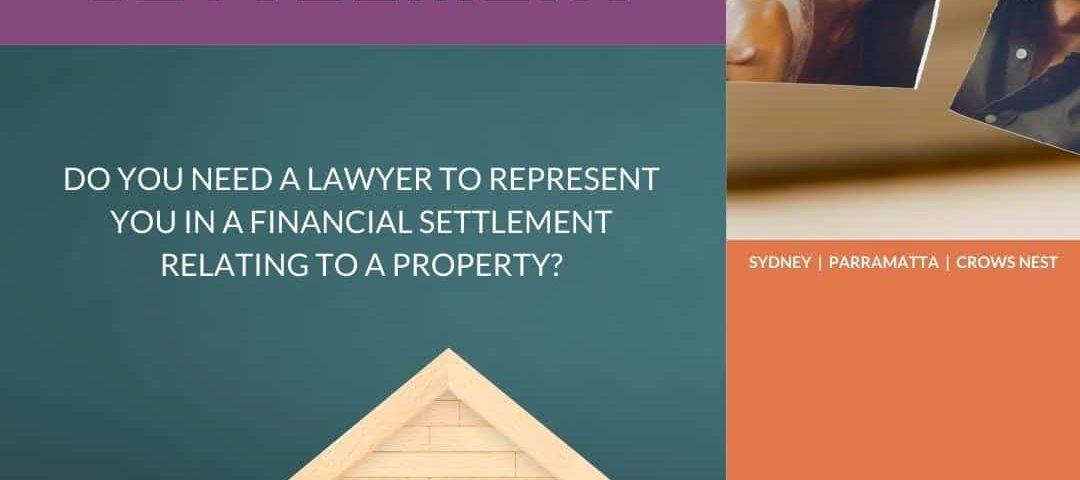 Financial Settlement Lawyer Property Sydney