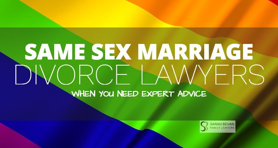 Same-Sex Property Settlement Lawyers Sydney