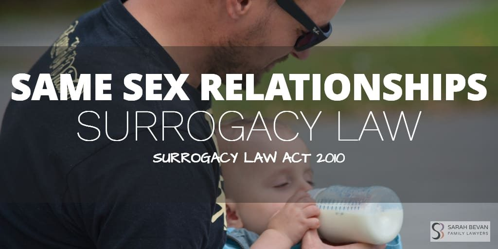 Surrogacy Law Same Sex Relationship Lawyer Sydney