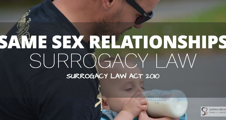 Surrogacy Law Same Sex Relationship Lawyer Sydney