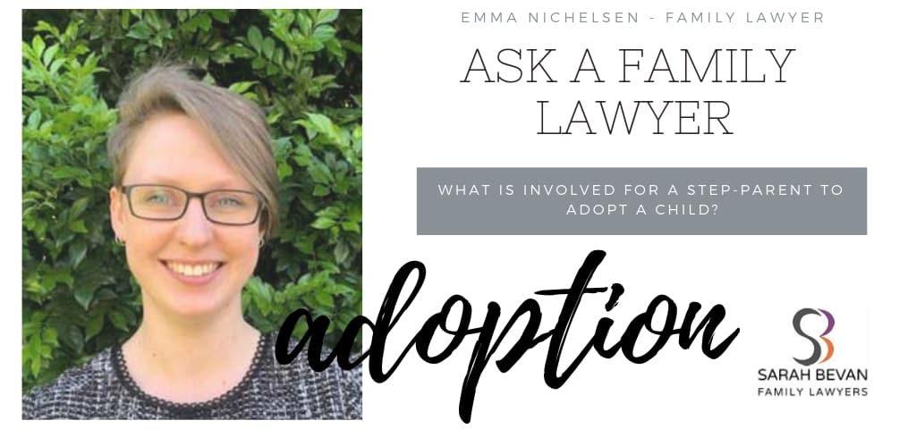 Step parent Adoption Family Lawyer Sydney