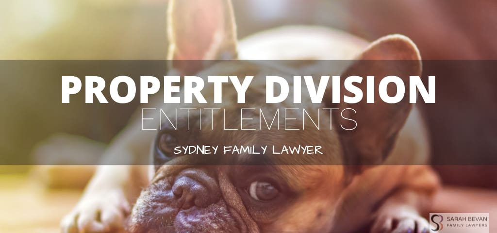 Property Division Entitlements Family Lawyer Sydney