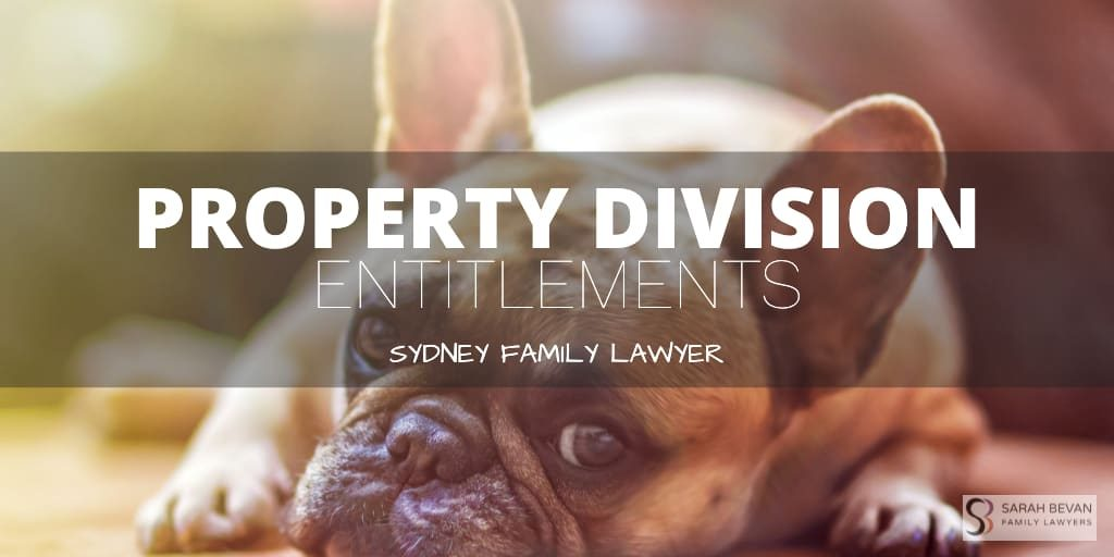 De Facto - Property Division Entitlements Family Lawyer Sydney