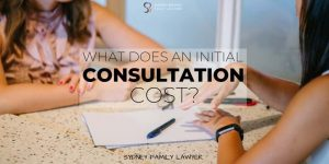 What does an initial consultation cost with a family lawyer