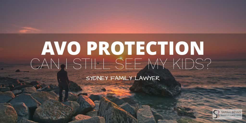 Family Child Custody Lawyer AVO Sydney