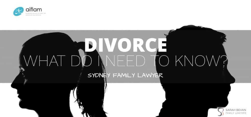 Divorce What Do I Need To Know