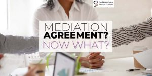 Mediation Agreement what happens family lawyer sydney