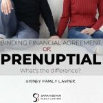 BFA Prenuptial Binding Financial Lawyer Difference Family Lawyer