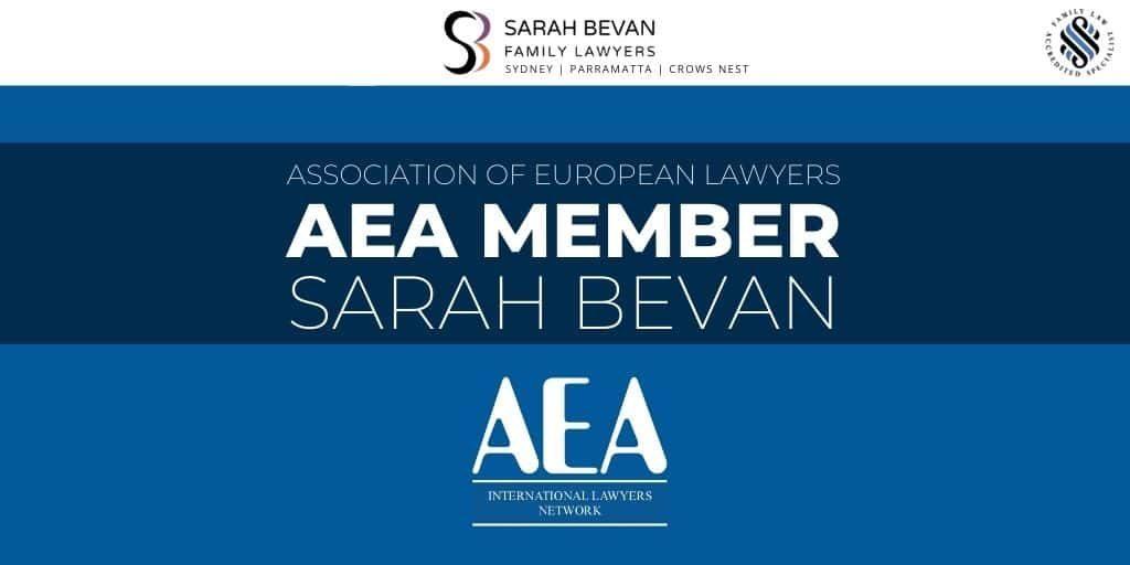 AEA Member Sarah Bevan Family Lawyer Sydney