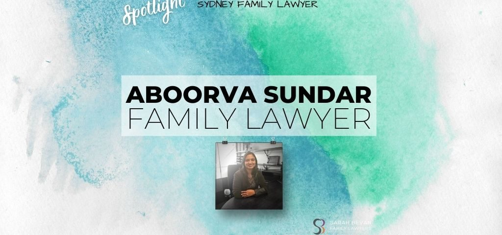 Aboorva Sundar Family Lawyer Associate Sydney