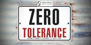 Zero Tolerance Family Law News